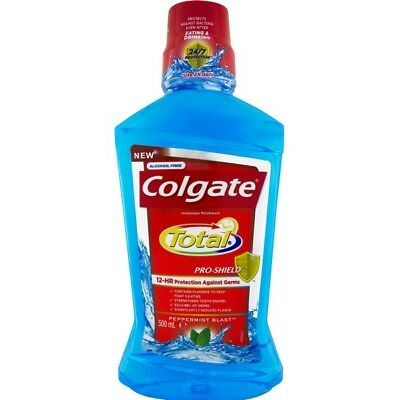 Colgate Total Mouthwash Peppermint 500ML NEW Cincotta Chemist