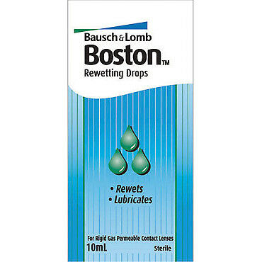 Boston Rewetting Drops 10Ml NEW Cincotta Chemist