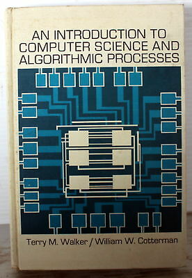 1971 An Introduction To Computer Science And Algorithmic Processes H/c 3Rd Print