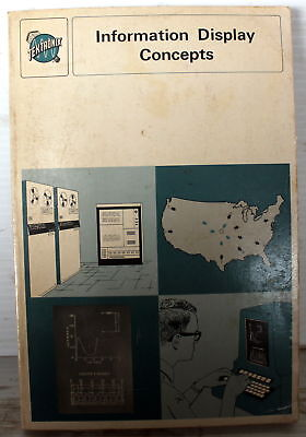 1969 Tektronix Information Display Concepts By Nick Stadtfeld 1St Ed. 2Nd Print
