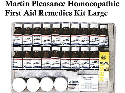 Martin Pleasance Homoeopathic First Aid Kit Large * 19 Homoeopathic Remedies