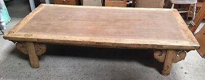 Vintage Opium Day Bed / Large Coffee Table