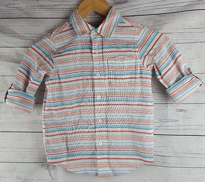 Baby Gap Boys Toddler Size 5 Shirt Years Striped Button Down Top