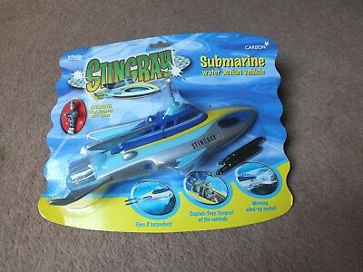Stingray Submarine - Water Action Vehicle - Carlton 2001 Gerry Anderson Moc Rare