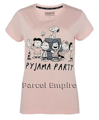 Primark Official SNOOPY Cami Set/Nightdress Pyjama Vest Shorts PJ Pajama T-Shirt