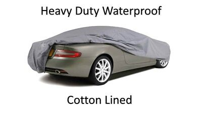 BMW E30 Convertible LUXURY PREMIUM FULLY WATERPROOF CAR COVER COTTON LINED HD