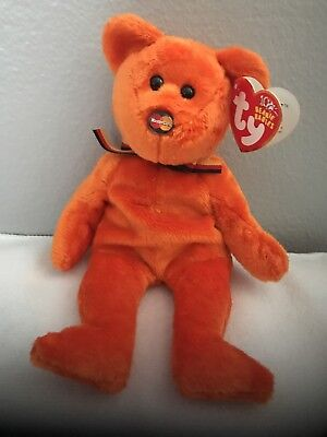 TY BEANIE BABY - MC II (2) MASTERCARD Bear (Credit Card Exclusive ... 293718bb3d6b