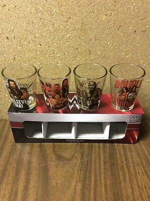 WWE Superstars Shot Glasses 4 Pack