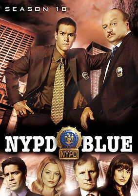 NYPD Blue - Season 10 (DVD 5-Disc Set) - FACTORY SEALED