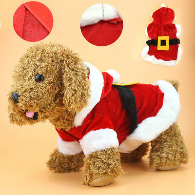 Santa Costume for dogs, cats
