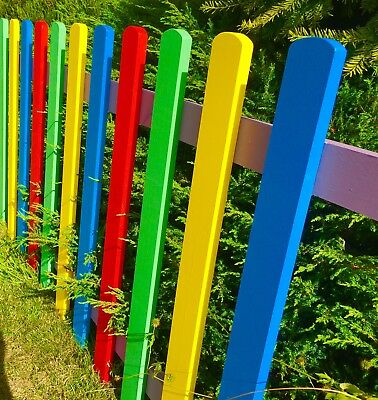 Picket Fence Panels Projects, You Choose The Colours, Painted Picket Fencing