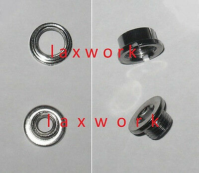 nut and bolt set for dropout derailleur hanger mtb road bike bicycles cycles NEW