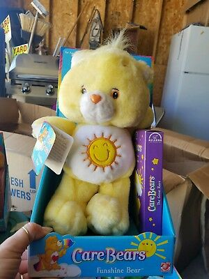 Funshine Care Bear With VHS Tape