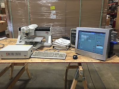 Hermes Gravograph IS400 TM Engraver, With Windows 98 Computer And Monitor.