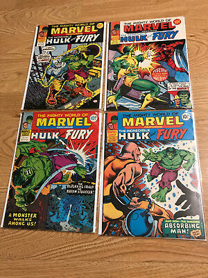 The Mighty World of Marvel featuring Hulk and Fury
