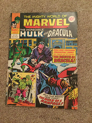The Mighty World of Marvel featuringThe Incredible Hulk and Dracula