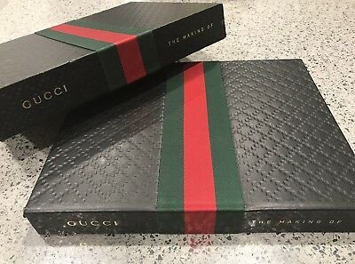 AUTHENTIC Gucci Hardcover Book, 'GUCCI: The Making Of' Published By Rizzoli