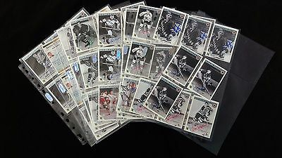 Wholesale Lot of 55 ORIGINAL Autographed Signed NHL Ultimate 2.5x3.5 Cards
