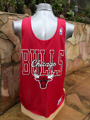 Mitchell & Ness Chicago Bulls Mens NBA Basketball Reversible Jersey Vintage 80's