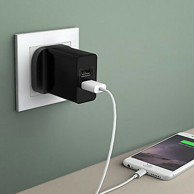 Durable Universal Fast Wall Charger Dual USB Plug 2 Port Power Adapter For Phone