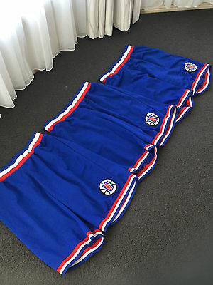 LA Clippers NBA Shorts Kobe Lebron Jordan Basketball Sports Training- 1 pair