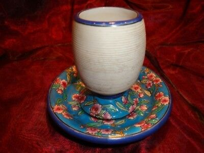 Pyrogene Flower Bar Matches Match Striker Holder French Style Porcelain Enamels
