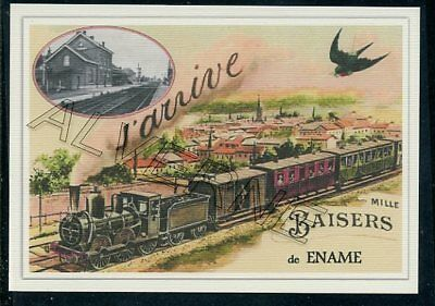 ENAME  - train souvenir creation moderne - serie limitee numerotee