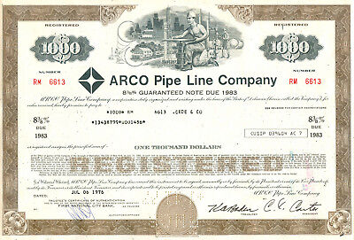 Arco Pipe Line Company 1976