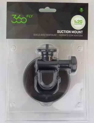 360fly 4K ¼-20 Suction Mount - Limitless Camera Positioning, 360 Fly New Sealed
