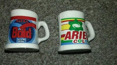 Vintage collectable Miniture Tankards Ariel and Bold