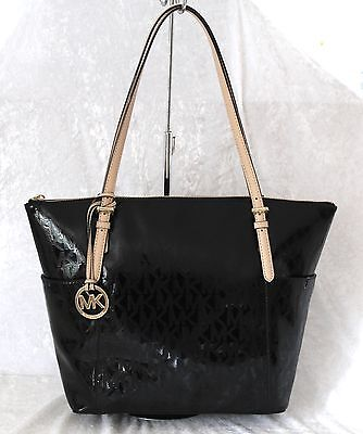 MICHAEL KORS TASCHE Shopper Signature Tote Jet Set Item