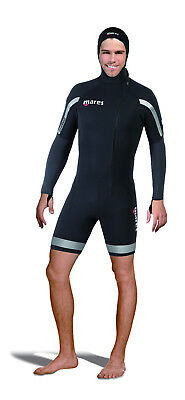 Mares Mens 2nd Shell Shorty Wetsuit With Hood Scuba Diving Snorkeling 412333