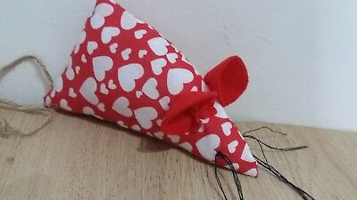 cat toy mouse. Fabric mouse with cat bell inside. Cat toy. Handmade