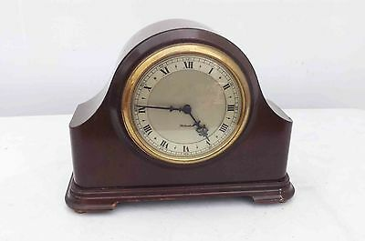mantle clock by Rotherhams of Coventry quality mechanical 8 day movement.