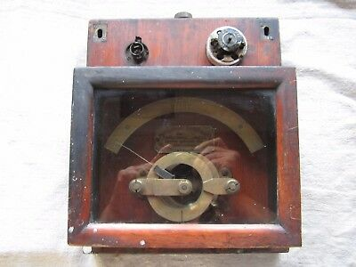 1880's Thomas Houston Electric Co. Volts POTENTIAL INDICATOR, ( Pre GE )