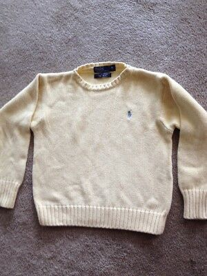 Ralph Lauren Polo Boys  Sweater Small Size 5 Pullover USED