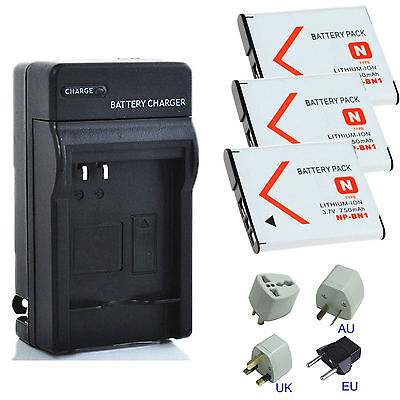 For Sony NP-BN1 Lithium-Ion N Type Rechargeable Battery / Home Charge Kit
