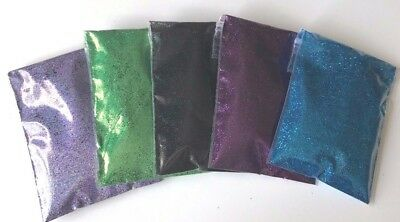 Trial Pack Biodegradable Cosmetic glitter eyes, glitter tattoos, nails and lips