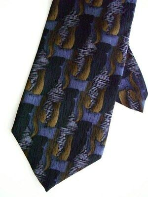 "Cocktail Collection Men's 100% Silk Neck Tie Gray 3 3/4"" x 60"" Long"