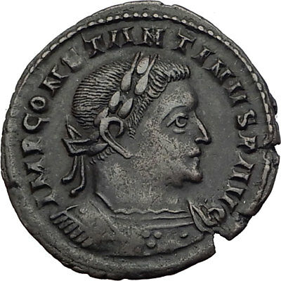 CONSTANTINE I the Great 310AD London Londinium Ancient Roman Coin SOL SUN i64038