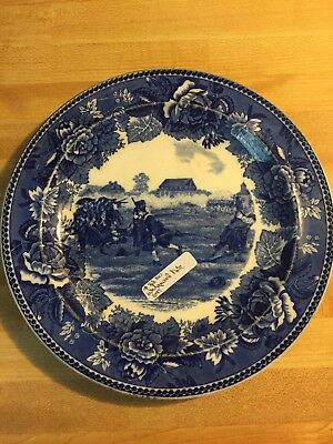 Antique wedgewood plate