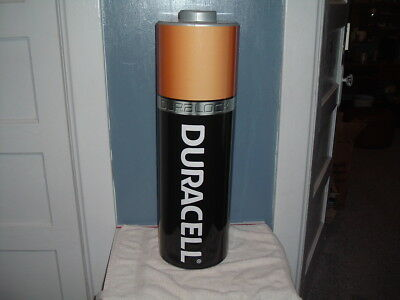 """Duracell / Energizer Large Battery Store Display Sign 27.5"""" High 8"""" Wide NEW"""