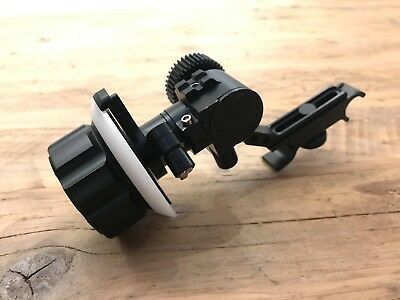 Chrosziel follow focus for 15mm rods 0.8 pitch gear