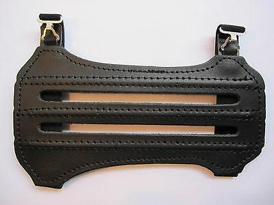 New Archery GOMPY AB-7 Armguard (arm guard) - Leather topside anti-slip backside