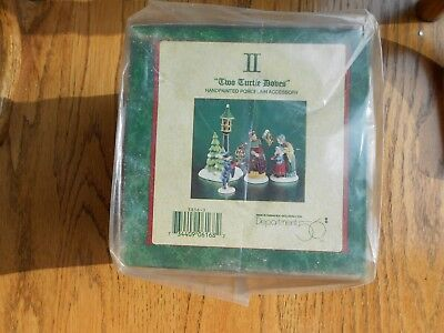DEPT 56 TWELVE DAYS OF DICKENS' Accessory TWO TURTLE DOVES NIB *Sealed*