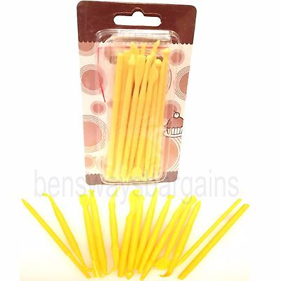 pack of 14 Modelling Tools Wax Clay Craft, Icing, Cupcake Baking, Sugarcraft