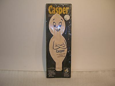 Vintage Harvey Cartoons Casper The Friendly Ghost Toss Up Balloon Sealed !!