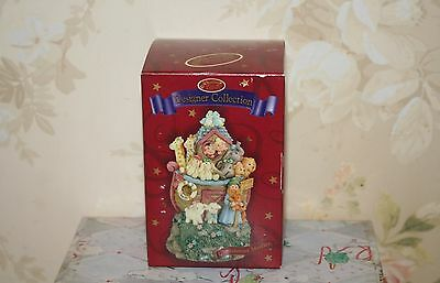 San Francisco Music Box Co. Ornament Noah's Ark, Plays Medley, New Sealed in Box