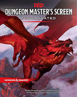 Dungeons & Dragons Dungeon Masters Screen Reincarnated NEW