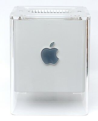 Apple PowerMac G4 Cube 450Mhz 704MB RAM 20GB HDD 16MB Rage 128 AirPort *WORKING*